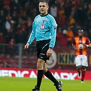 Referee's Bulent Yildirim during their Turkish Super League soccer match Galatasaray between Istanbul Basaksehir at the AliSamiYen Spor Kompleksi TT Arena at Seyrantepe in Istanbul Turkey on Saturday, 14 March 2015. Photo by Aykut AKICI/TURKPIX