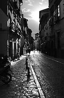 A street scene in Granada, Spain
