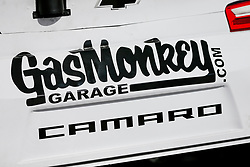 November 2, 2018 - Fort Worth, TX, U.S. - FORT WORTH, TX - NOVEMBER 02: Monster Energy NASCAR Cup Series driver Corey LaJoie (72) Gas Monkey Garage Camaro waits in the garage before practice for the AAA Texas 500 on November 02, 2018 at the Texas Motor Speedway in Fort Worth, Texas. (Photo by Matthew Pearce/Icon Sportswire) (Credit Image: © Matthew Pearce/Icon SMI via ZUMA Press)