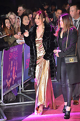© Licensed to London News Pictures. 09/02/2016. London, UK. <br /> DAKOTA JOHNSON and cast fellow cast attend the UK film premiere of 'How To Be Single'.  The film is about a woman writing a book about bacherlorettes who becomes embroiled in an international affair while researching abroad<br /> Photo credit: Ray Tang/LNP
