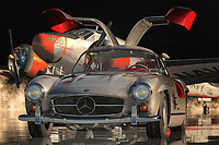 The Mercedes 300 SL Gullwing is the ultimate sports car. The car is the embodiment of perfection and luxury with a touch of class. Mercedes has always been the symbol of power, speed, and elegance, which can be seen in the Mercedes vehicles and the parts that are made by the company. The 300 SL is one of the models in the line up of the luxurious cars that features the V-tech engines that are synonymous with top-class performance. This model also features the precision-crafted Brembo brakes and the front end is completed with the elegant light aluminum body kit and the sleek curves. These are the features that have made the Mercedes 300 SL Gullwing the most coveted classic car.