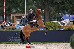 Spits Patrick, BEL, Virocondo Z<br /> Belgisch Kampioenschap Jumping  <br /> Lanaken 2020<br /> © Hippo Foto - Dirk Caremans<br /> 03/09/2020