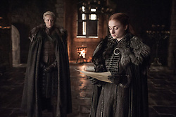 September 1, 2017 - Gwendoline Christie, Sophie Turner..'Game Of Thrones' (Season 7) TV Series - 2017 (Credit Image: © Hbo/Entertainment Pictures via ZUMA Press)