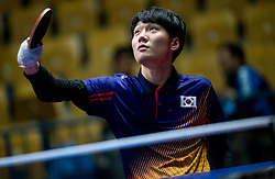 Hyeon Uk KIM of Korea plays final match during Day 4 of SPINT 2018 - World Para Table Tennis Championships, on October 20, 2018, in Arena Zlatorog, Celje, Slovenia. Photo by Vid Ponikvar / Sportida