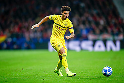 November 6, 2018 - Madrid, MADRID, SPAIN - Jadon Sancho of Borussia during the UEFA Champions League football match between Atletico de Madrid and Borussia Dormund on November 06th, 2018 at Estadio Wanda Metropolitano in Madrid, Spain. (Credit Image: © AFP7 via ZUMA Wire)