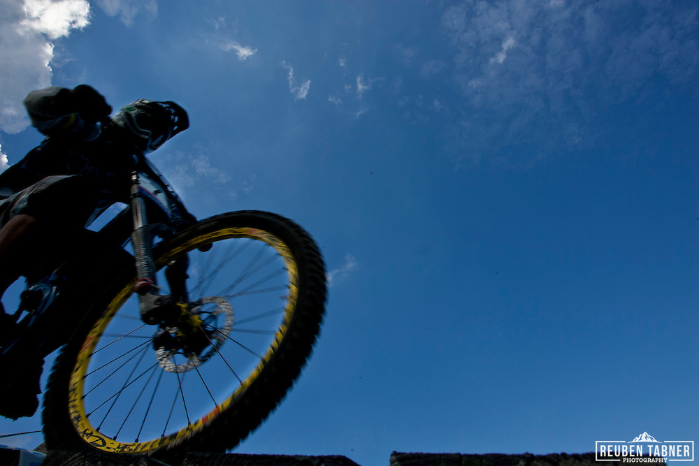 UCI Mountain Bike World Cup in Fort William, Scotland.