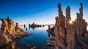Sunrise at the south shore of Mono Lake, Mono Basin National Scenic Area, California USA