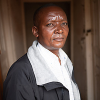 Paluco Mashini Hangi, chair of the Health Committee in Vighole near Butembo. The work of the Vighole Health Committee has been supported and strengthened by the IMA Ebola Response and Recovery project.