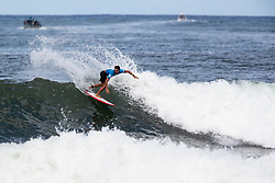 Conner O'Leary of Australia advances to round 4 after placing second in round 3 heat 7 of the 2018 Hawaiian Pro at Haleiwa, Oahu, Hawaii, USA.