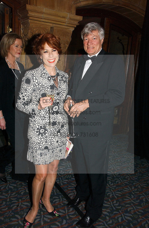 MR GEOFFREY ROBERTSON QC and his wife, writer KATHY LETTE at a gala dinner in the presence of HM Quenn Silvia of Sweden and HM Queen Noor of Jordan in aid of the charity Mentor held at the Natural History Museum, Cromwell Road, London on 23rd May 2006.<br /><br />NON EXCLUSIVE - WORLD RIGHTS