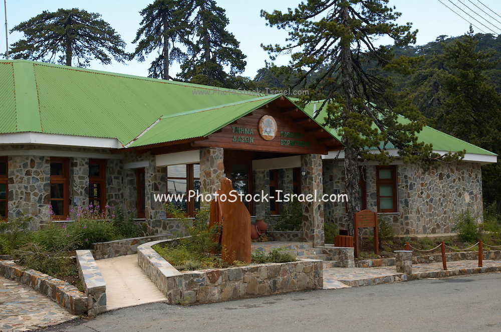 Cyprus, Troodos mountains, Cypriot Forestry visitors centre