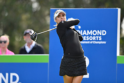 January 19, 2019 - Lake Buena Vista, FL, U.S. - LAKE BUENA VISTA, FL - JANUARY 19: Gaby Lopez of Mexico during the third round of the Diamond Resorts Tournament of Champions on January 19, 2019, at Tranquilo Golf Course at Fours Seasons Orlando in Lake Buena Vista, FL. (Photo by Roy K. Miller/Icon Sportswire) (Credit Image: © Roy K. Miller/Icon SMI via ZUMA Press)