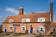 Turks Head traditional country pub, Hasketon, Suffolk, England