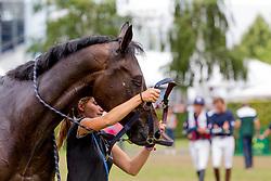 Touzaint Nicolas, FRA, Absolut Gold<br /> CHIO Aachen 2019<br /> © Hippo Foto - Sharon Vandeput<br /> 20/07/19
