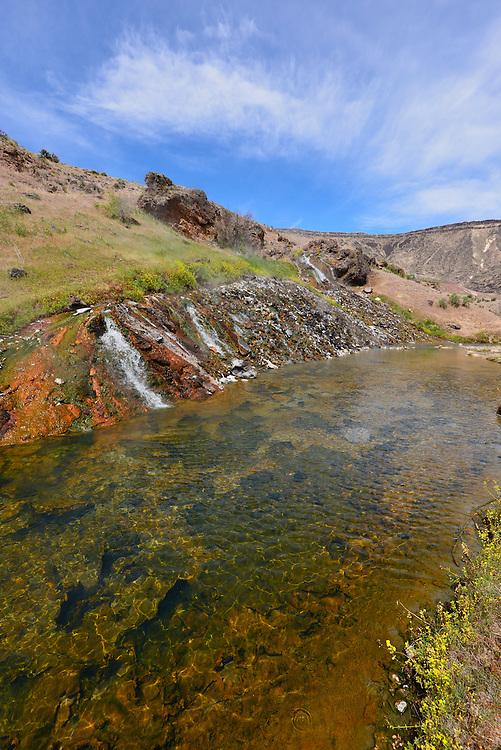 ndian Hot Springs along Idaho's Bruneau River.