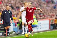 Abeerdeen's Gary Mack-Steven during the UEFA Europa League Qualifying match between Aberdeen and Burnley at Pittodrie Stadium, Aberdeen, Scotland on 26 July 2018.