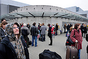 POZNAN, POLAND - 03/11/2008 - TRAVEL, Alarm at the airport..© Christophe VANDER EECKEN