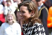 On Queensday, april 30th the Queen attends the celebrations of Queensday in Scheveningen near the Hague.<br /> This is her 25th jubilee.<br /> <br /> Op Koninginnedag, 30 april, is de Koningin  's Middags aanwezig metn en haar familie het koninginnedagfeest mee te vierten in Scheveningen.<br /> <br /> On The photo / On the Photo;<br /> <br /> Princes Marilène / Prinses Marilène