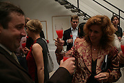 Gregor Muir and Manuela  Wirth, Party hosted by Sir Richard and Lady Ruth Rogers at their house in Chelsea  to celebrate the extraordinary achievement of completing this year's Pavilion  by Olafur Eliasson and Kjetil Thorsenat at the Serpentine.  13 September 2007. -DO NOT ARCHIVE-© Copyright Photograph by Dafydd Jones. 248 Clapham Rd. London SW9 0PZ. Tel 0207 820 0771. www.dafjones.com.