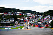 July 27-30, 2017 -  Total 24 Hours of Spa, Start of the 24 hours of Spa led by Kaspersky Motorsport, Giancarlo Fisichella, Marco Cioci, James Calado, Ferrari 488 GT3