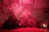2019 New years Viktoriapark