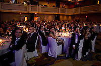 Scenes of the crowd at the 2009 International Emmy Awards Gala hosted by the International Academy of Television Arts & Sciences in New York.  ***EXCLUSIVE***