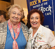 03/11/2016 Repro fee: Rita Gilligan's book The Rock 'n' Roll Waitress from The Hard Rock Cafe My Life in Hotel Meyrick, Galway was launched my Cllr. Noel Larkin Mayor of Galway. At the launch were   Rita Nolan Waterlane and Rita Gilligan Author.<br />  Photo :Andrew Downes, XPOSURE