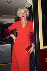 Helen Mirren attending a preview of the film The Widow of Winchester at the Cinema Adriano in Rome