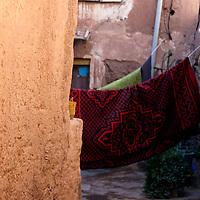 Africa, Morocco, Ouarzazate. Berber village of Ouarzazate.