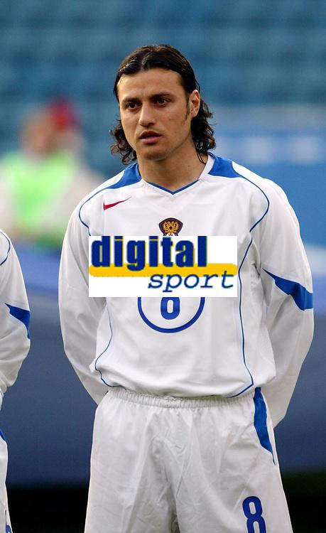 Fotball, 28. april 2004, Privatlandskamp, Norge-Russland 3-2, Rolan Gusev, Russland, portrett