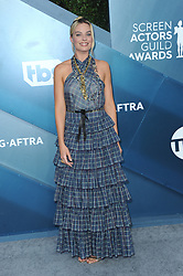 Margot Robbie at the 26th Annual Screen Actors Guild Awards held at the Shrine Auditorium in Los Angeles, USA on January 19, 2020.