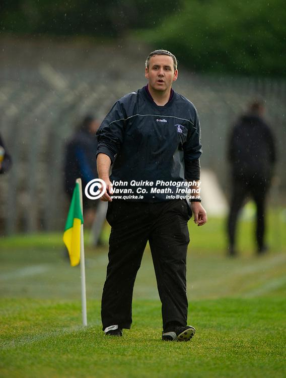 27-07-21. Carnaross v St. Vincent's Tailteann Cup Final 2020.<br /> Hugh Durrigan, St. Vincent's Manager.<br /> Photo: John Quirke / www.quirke.ie<br /> ©John Quirke Photography, 16 Proudstown Road, Navan. Co. Meath. (info@quirke.ie / 046-9028461 / 087-2579454).
