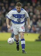 London, England, UK, 8th March 2002, EFL Div 2, Queens Park Rangers vs Bristol City, Loftus Road Stadium, Shepherd's Bush, Greater London,<br /> [Mandatory Credit: Peter Spurrier/Intersport Images],<br /> <br /> Sport - Football Nationwide Division 2 - QPR v Bristol City<br /> Kevin Gallen