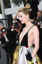 Sorry Angel Red Carpet Arrivals at The 71st Annual Cannes Film Festival. 10 May 2018 Pictured: Amber Heard. Photo credit: MEGA TheMegaAgency.com +1 888 505 6342