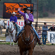 Darby Rodeo Lil Miss at the Darby Rodeo Associations Broncs N Barrels event.  September 14, 2018.  Photo by Josh Homer/Burning Ember Photography.  Photo credit must be given on all uses.