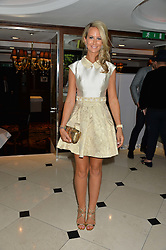 "LADY VICTORIA HERVEY at a party to celebrate the publication of ""Lady In Waiting: The Wristband Diaries"" By Lady Victoria Hervey held at The Goring Hotel, Beeston Place, London on 9th May 2016."