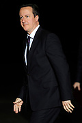 Koning Willem Alexander en Koningin Maxima ontvangen  de delegatieleiders van de Nuclear Security Summit (NSS) voor een diner op Paleis Huis Ten Bosch in Den Haag.<br /> <br /> King Willem Alexander and Queen Maxima receive the heads of delegation of the Nuclear Security Summit (NSS) for a dinner at the palace Huis Ten Bosch in The Hague.<br /> <br /> Op de foto / On the photo:  De Britse premier David Cameron / British Prime Minister David Cameron