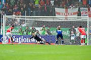 Eiji Kawashima (Japan), May 30, 2010 - Football : World Cup South Africa 2010 test match ,  match between Japan 1-2 England  at Libenau stadium, Graz, Austria, (Photo by Enrico Calderoni/AFLO SPORT) [0391]