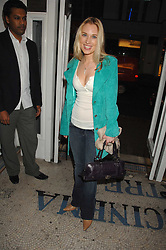 IMOGEN LLOYD WEBBER at the Grand Classics screening of the film 'Don't Look Now' sponsored by Motorola held at The Electric Cinema, 181 Portobello Road, London W11 on 24th September 2007. <br /><br />NON EXCLUSIVE - WORLD RIGHTS