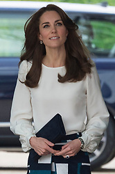 © Licensed to London News Pictures. 16/05/2016. Duchess of Cambridge attends the launch of their Heads Together campaign to eliminate stigma on mental health London, UK. Photo credit: Ray Tang/LNP