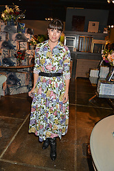 ISABEL SPEARMAN at a party to celebrate the publication of Flourish by Willow Crossley held at OKA, 155-167 Fulham Rd, London on 4th October 2016.