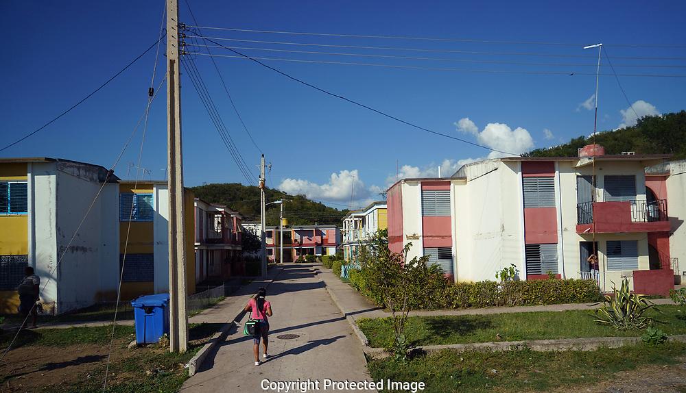 Apartment housing  in Trinidad, Cuba<br /> Photo by Dennis Brack