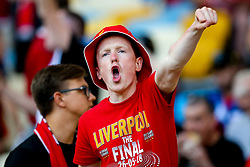 Liverpool fans sing in the Olympic Stadium ahead of the Champions League Final against Real Madrid - Mandatory by-line: Robbie Stephenson/JMP - 26/05/2018 - FOOTBALL - Olympic Stadium - Kiev,  - Real Madrid v Liverpool - UEFA Champions League Final