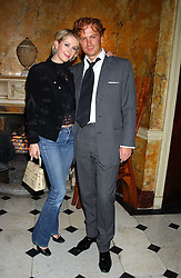 PRINCE VALERIO MASSIMO and MISS ANTONIA HEDLEY-DENT at a party following the TopShop Unique fashion show held at Home House, Portman Square, London on 19th September 2005.<br /><br />NON EXCLUSIVE - WORLD RIGHTS