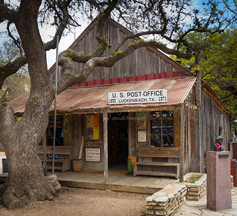 Luckenbach is an unincorporated community thirteen miles (19 km) from Fredericksburg in southeastern Gillespie County, Texas, United States, part of the Texas Hill Country.