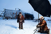 EXCLUSIVE<br /> Arctic Nomads From Remote Russia Photographed For The First Time<br /> <br /> Braving temperatures of -45f to visit a place that is literally located at the end of the earth, Sasha Leahovcenco photographed people who have never had their picture taken before.