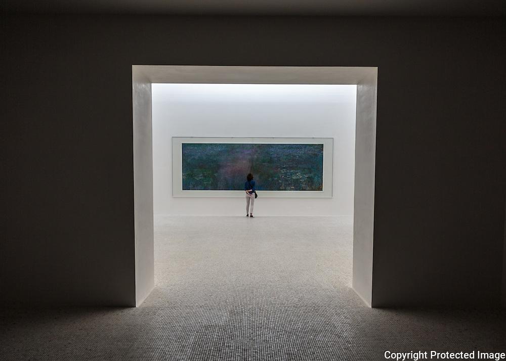 ChiChu Art Museum, Monet Room, Naoshima Island, Japan