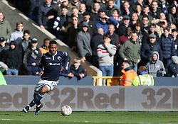 Mahlon Romeo of Millwall on the ball - Mandatory by-line: Arron Gent/JMP - 17/03/2019 - FOOTBALL - The Den - London, England - Millwall v Brighton and Hove Albion - Emirates FA Cup Quarter Final