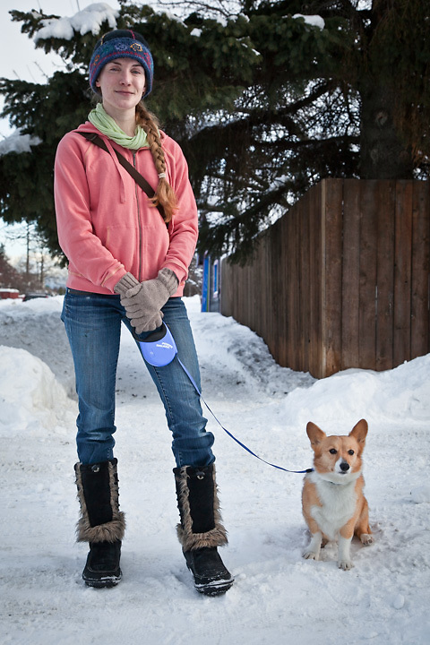 Neighbor and teacher, Ellie Eshaya, South Addition, Anchorage
