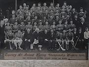 Tipperary All-Ireland Hurling Championship Winners 1930, .07091930AISMJHF,..07.09.1930, 09.07.1930, 7th September 1930,.Including Senior, Juniors and Minors,..Back Row: P.Cahill, J. Harney, T.Treacy, T.Butler, J.McKenna, T. Leahy, J.Stapleton,.Next Row: J.Lanigan, M.F.Cronin, J.Heaney, P.Purcell, J.J Callanan (Capt.), M.Ryan, J.Maher, J.O'Loughlin, D.Looby.Next Row: Rev.M.J.Lee, T.Butler, J.Harrington, T.Rainey, P.Harty (Capt.), J.Ryan, T.Hayes, T.Power, M.Kennedy. M.Ryan, J.O'Dwyer, J. Connolly,.Next Row: W.O'Gorman, E. Wade, T.Harty, T.Connolly, m.Brown, M.McGann, W.Ryan, J.Fletcher, M.Ryan, P.Furlong.Next row: F.McGrath, P.McGrath (Sec.), P.Ryna, W.Kennedy, J.Dunne, J.Heavey, P.Ryan, E.Maher, T.Harney, S.Semple, J.Lanigan, J.Close, W.O'Gorman, M.Maher (Capt).Last Row: P.Flanagan, J.Russell (Capt), Rev.J.J.Meagher, The Most Rev.Dr.Harty, Rev.P.Fogarty, J.Leahy (Sec), J.Coffey, J.Quinlan, T.Semple, W.Boland, W.O'Neill, P.Gleeson (Co. Board Chairman) Archbishop of Cashel